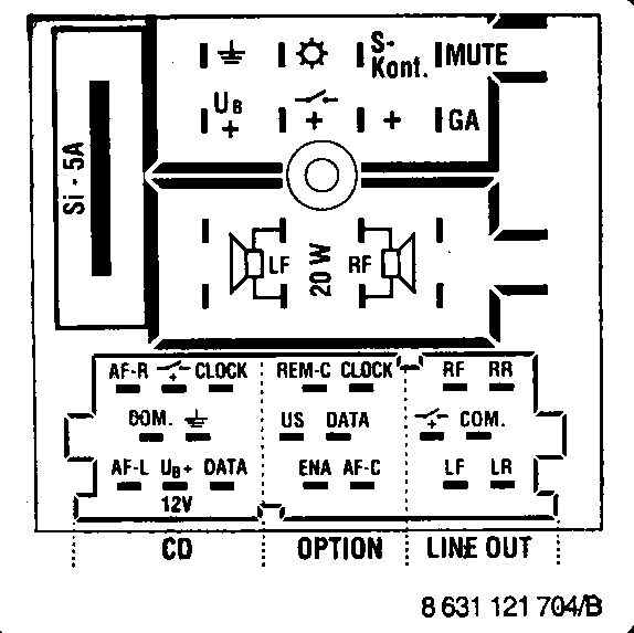 Car Audio Wire Diagram Codes Audi - Factory Car Stereo