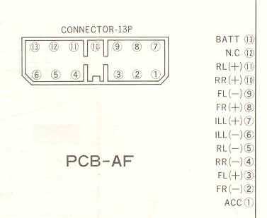 Car audio wire diagram codes mitsubishi factory car stereo on mitsubishi wiring diagram radio mitsubishi outlander radio wiring diagram 2002 Mitsubishi Eclipse Ignition Wiring Diagrams